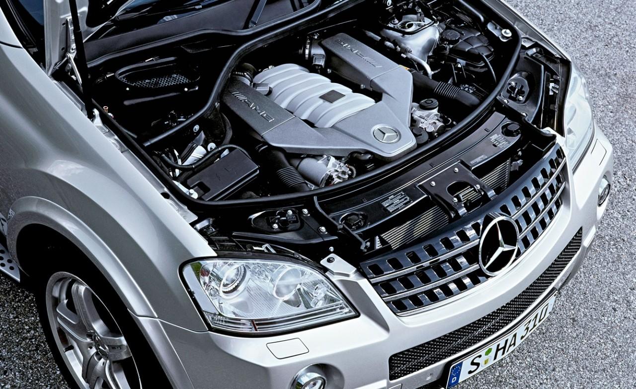 двигатель на мерседес мл 350 164 кузов