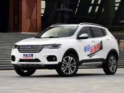 Новый китайский кроссовер Haval H2S