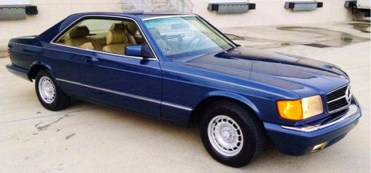 Mercedes-Benz W126 500 SEC