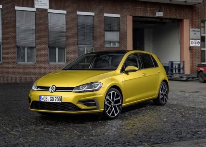 Рестайлинг VW Golf VII уже в начале 2017 года
