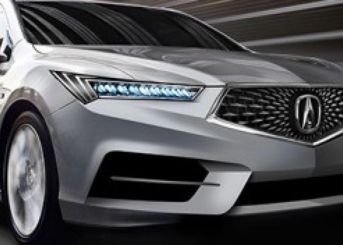 Acura TLX рестайлинг 2018