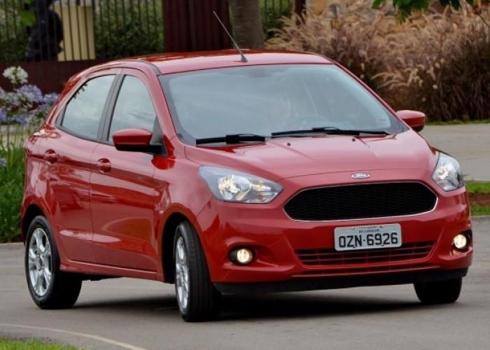 Компания Ford продемонстрировала свой новый миниатюрный хэтчбек