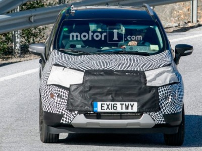Ford EcoSport рестайлинг - первые фото