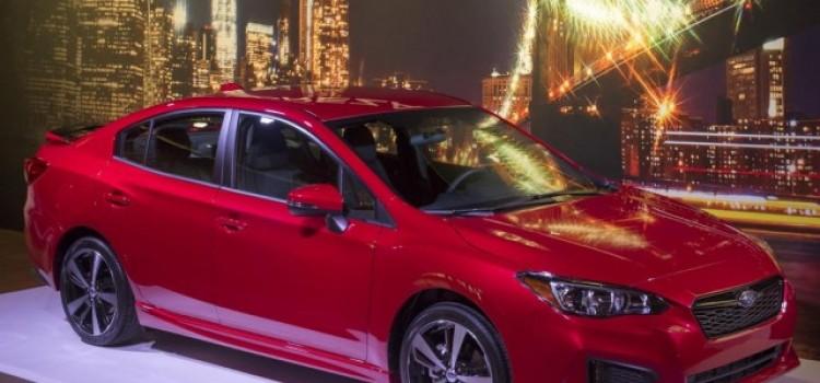 Новая Subaru Impreza 5 2016-17