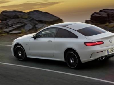 Первые фотографии Mercedes-Benz E-class Coupe 2017