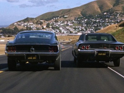 Dodge Charger 440 R/T и Ford Mustang 390 GT