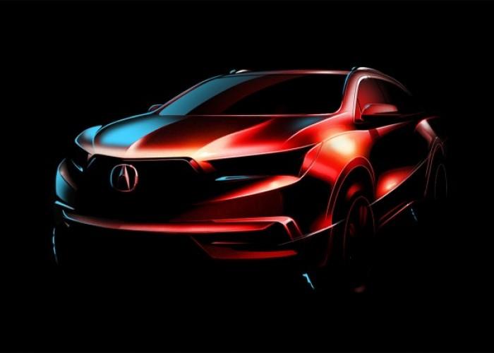 Новая Acura MDX.
