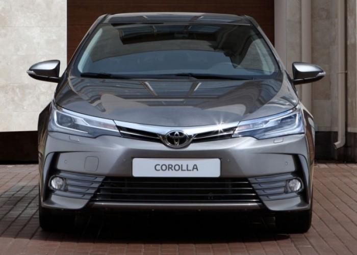 Toyota Corolla 2016: старт продаж в РФ
