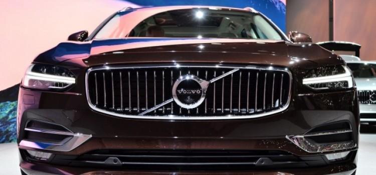 Volvo представила в Женеве свой универсал V90