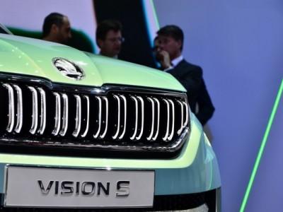 Skoda в Женеве показала концепт VisionS