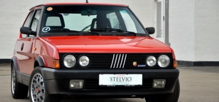 Автомобиль Fiat Strada Abartb 130TC