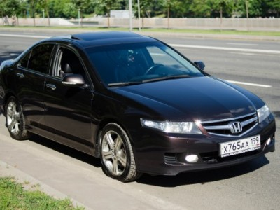 Обзор Honda Accord 7