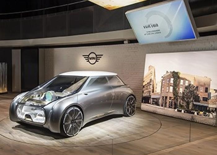 Mini показал, как будет выглядеть автомобиль каршеринга будущего