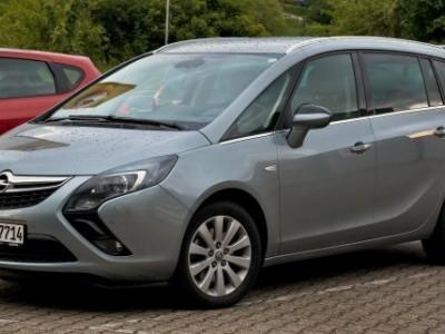 Рестайлинговый минивэн Zafira компании Opel был показан публике.