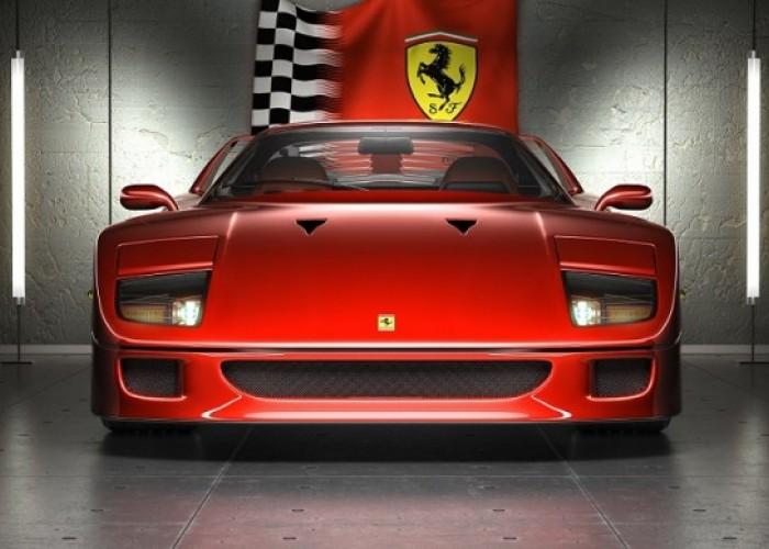 Серийный спорт-кар Ferrari F40