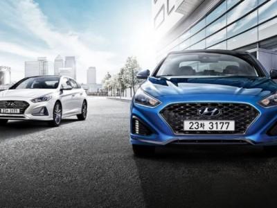 Компания Hyundai презентовала Sonata 2017