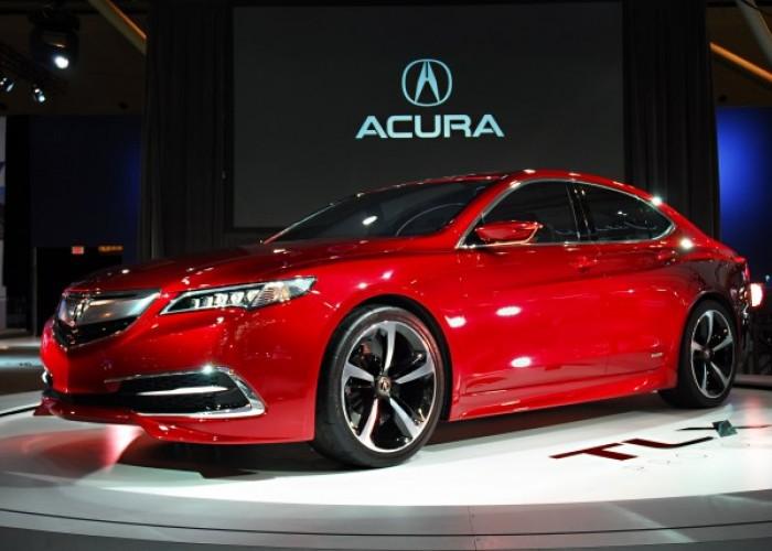 Обзор Acura TLX.