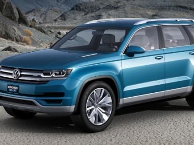 Семиместный кроссовер от Volkswagen проходит испытания высокогорными дорогами