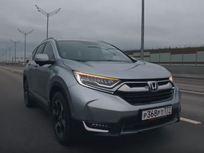 Обзор Honda CR-V Пятого поколения 2017